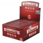 Elements Red Slow Burn Hemp King size slim