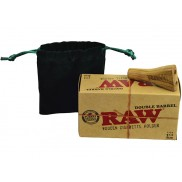 Raw wooden Double Barrel 1.25