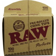 Raw Pre rolled tips 100 pack