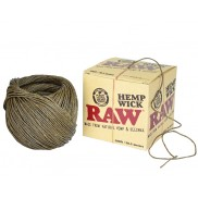 Raw Hemp Wick 30.5  meters