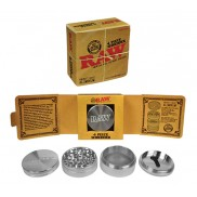 "Raw 4  piece Grinder 2.5""diameter"