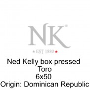 Ned Kelly  Box pressed Toro