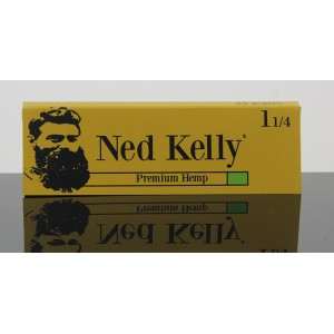 Ned kelly Hemp Rolling papers 1 1/4