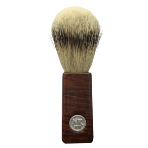 Ned Kelly Traditional Silver Tip Fine Badger Brush