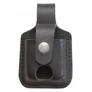 zippo Black Lighter Pouch with Thumb Notch